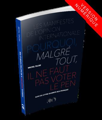 Pourquoi, malgré tout, il ne faut pas voter Le Pen - ebook