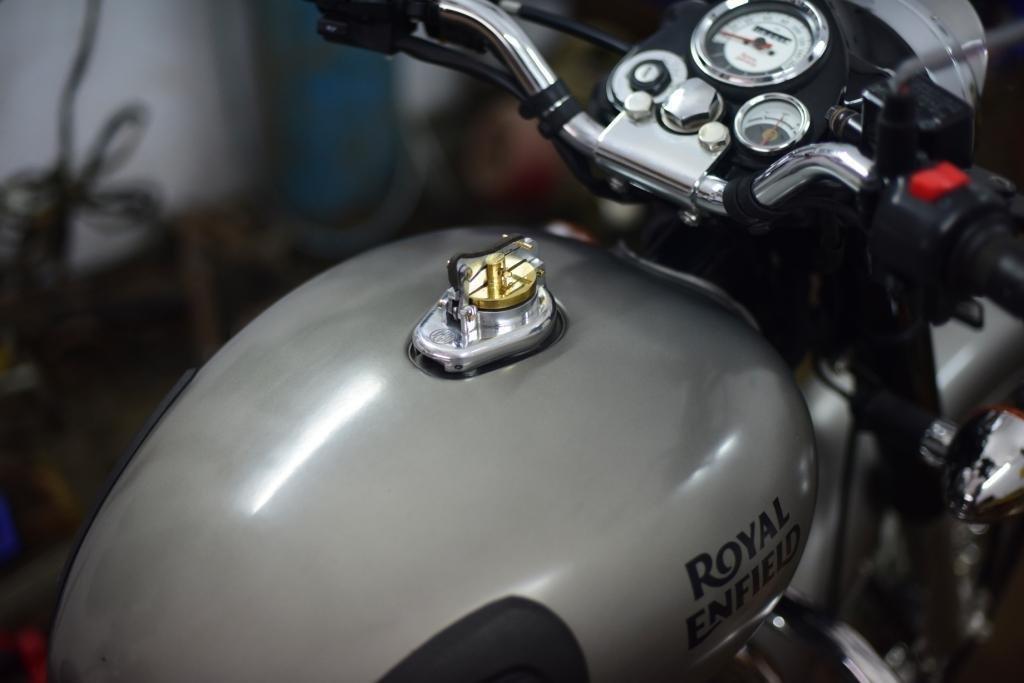 J&D Vintage Fuel Cap for Royal Enfield