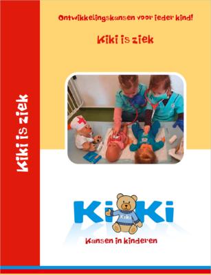 Thema Kiki is ziek, met vernieuwde woordkaarten