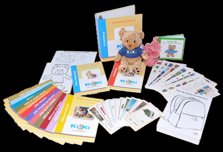 """Actie kinderopvang Koos: Thema Welkom Kiki en gratis Startpakket t.w.v. 49,50 euro i.c.m. inclusief 12 thema's """"Het Jaar Rond"""""""