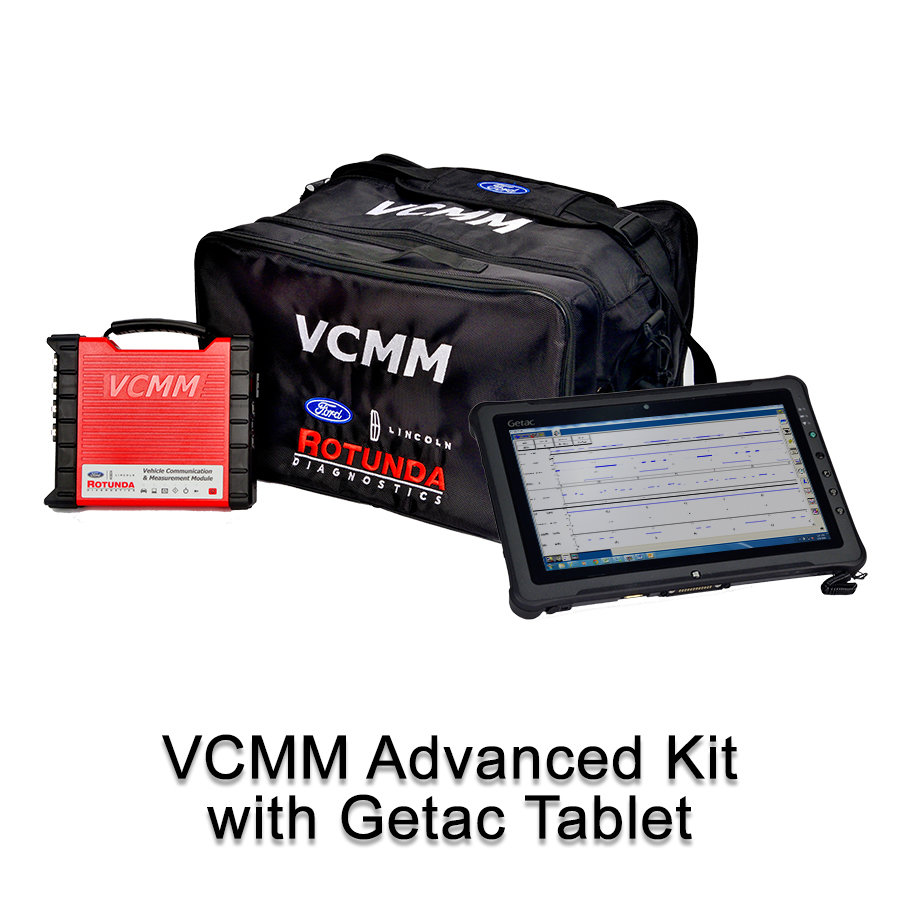 VCMM Advanced Kit With Getac F110 Tablet