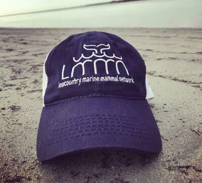 """Blue """"LMMN"""" Hat"""