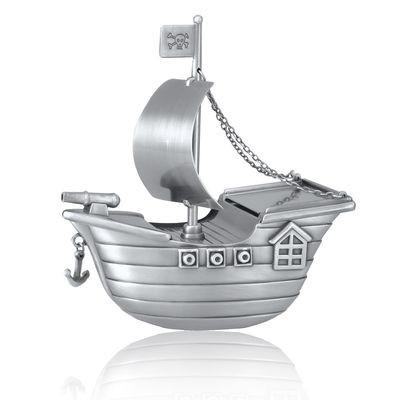 Pirate Ship Urn (Free Engraving)