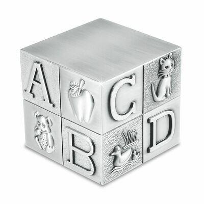 Baby Block Pewter Urn