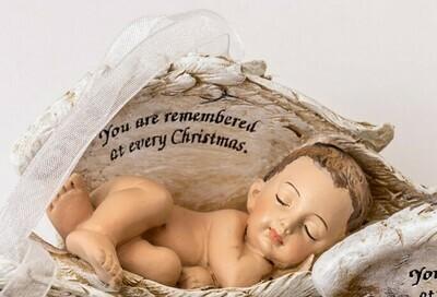 Christmas Ornament (Light skin tone) ORN-BIW-WH