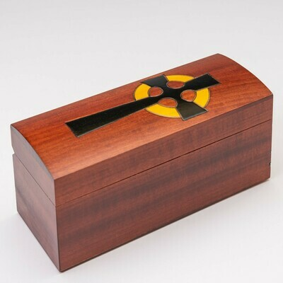 Cross Miscarriage Casket with Vessel C-7-CR