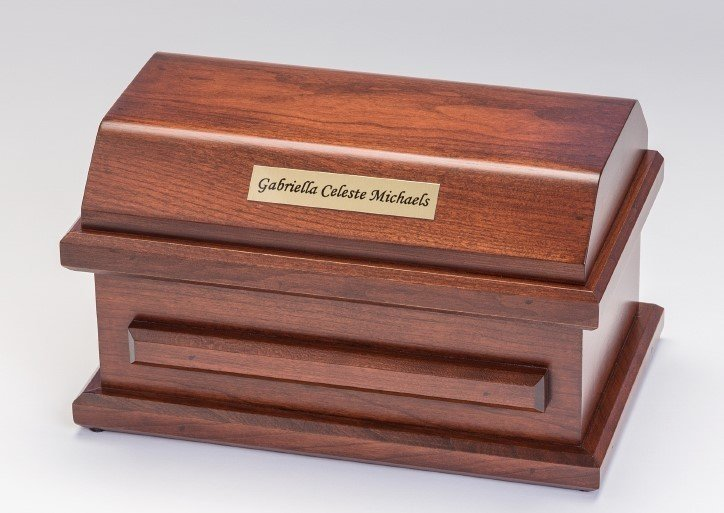 Cherry Miscarriage Casket (9 inch interior)     C-9-CH