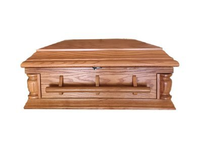 Oak Infant Casket (32 inch interior) C-32-JB-Oak