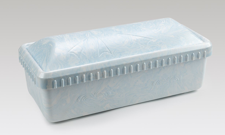 Serenity Casket/Vault combo (30 inch interior) (white, pink, or blue)   C-30-Ser