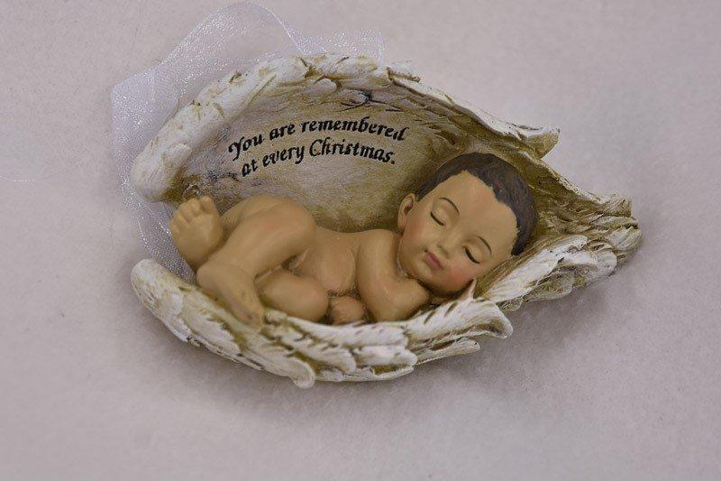 Christmas Ornament (medium skin tone) ORN-BIW-BRN
