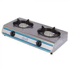 2 plate stainless steel gas stove
