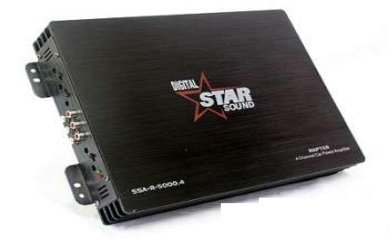 Starsound SSA-R-5000.4 5000W 4-Channel Amplifier