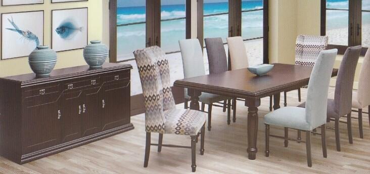 9 Piece Avanti Dining Room Suite