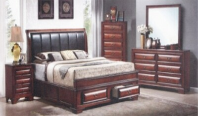 5 PIECE CLASSIC BEDROOM SUITE