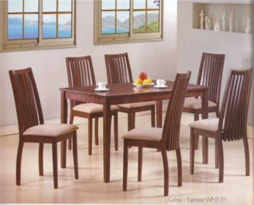 7 PIECE MICHU DINING SET