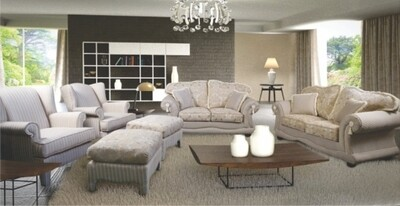 6 PIECE FOURIE LOUNGE SUITE