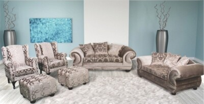 6 PIECE BARCELONA LOUNGE SUITE
