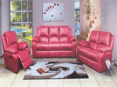 RED LOUNGE SUITE