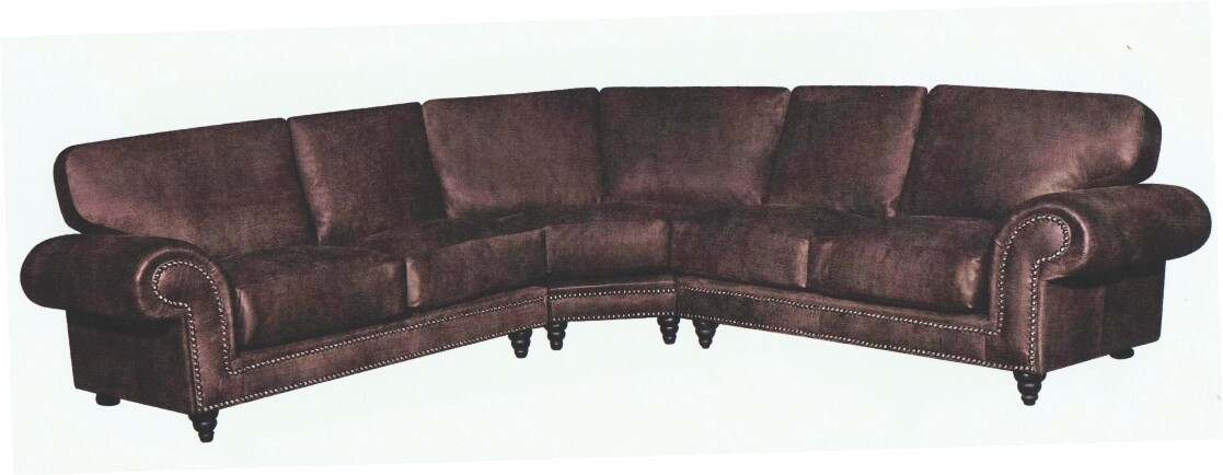 4 PIECE CORNER LOUNGE SUITE 100% FULL LEATHER