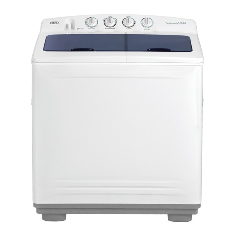 DEFY 10KG twin tub washing macine WHITE DTT171