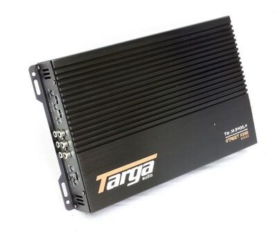 Targa 5400w 4 channel car amplfier