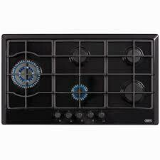 Defy gas 5 plate glass hob dhg 122