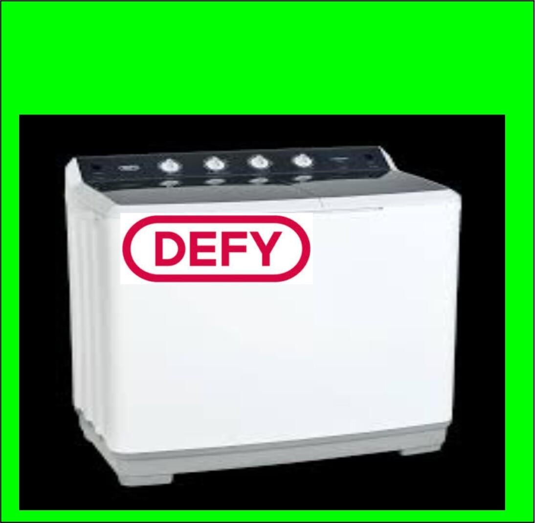 DEFY 18KG DTT180 twin tub washing machine