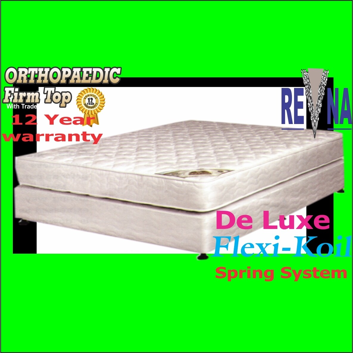 Orthopeadic Spine Gaurd 152cm QUEEN base set