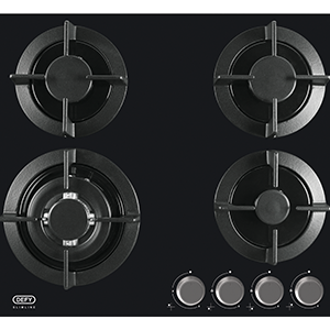 Defy gas 4 plate solid hob dhg 604