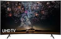 """SAMSUNG  65"""" UHD CURVED TV  UA65NU7300KXXA"""