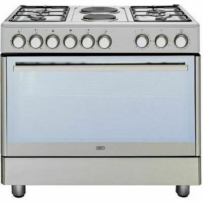 Defy  4 Burner Gas + 2 Solid Plate / Electric stove dsg158