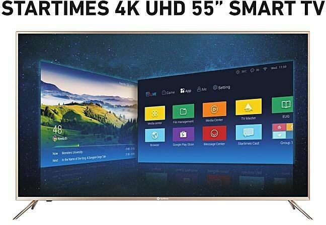 """STARTIME 55""""SMART TV 55INUHD"""
