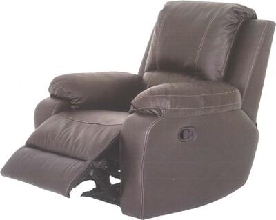 Genuine leather upper recliner