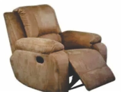 Suede Micro Fabric Recliner