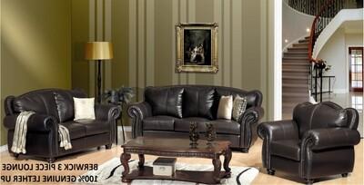 3 Piece BERWICK Lounge Suite with Trade-Inn