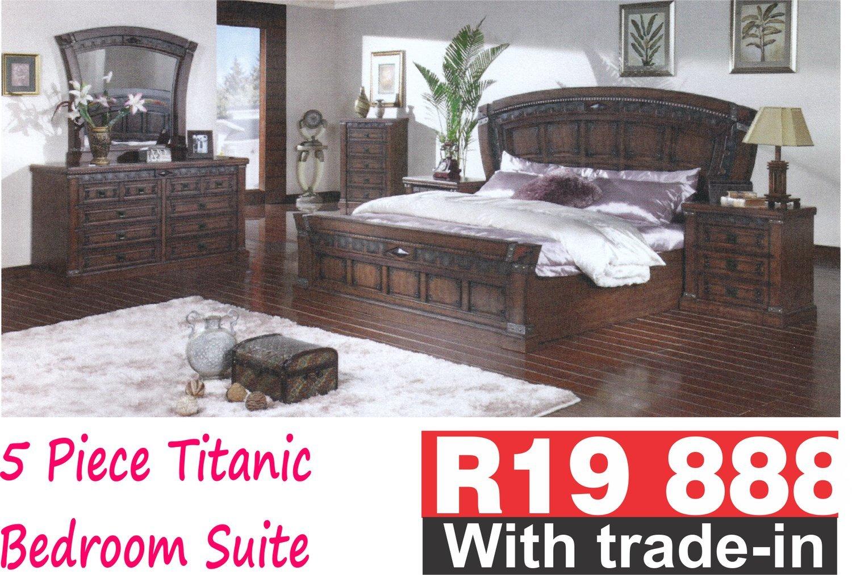 5 Piece Titanic Bedroom Suite