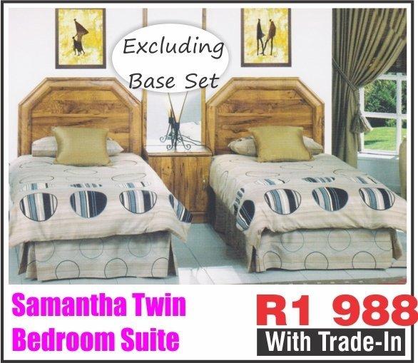 SAMANTHA TWIN BEDROOM SUITE