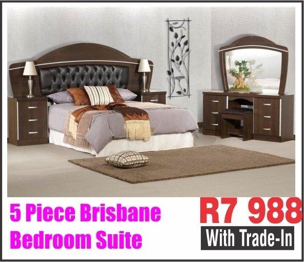 5 PIECE BRISBANE BEDROOM SUITE