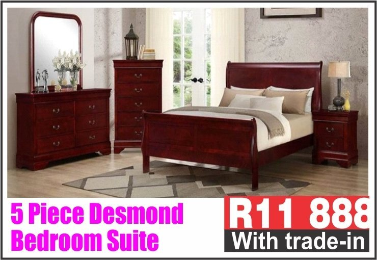 5 PIECE DESMOND BEDROOM SUITE