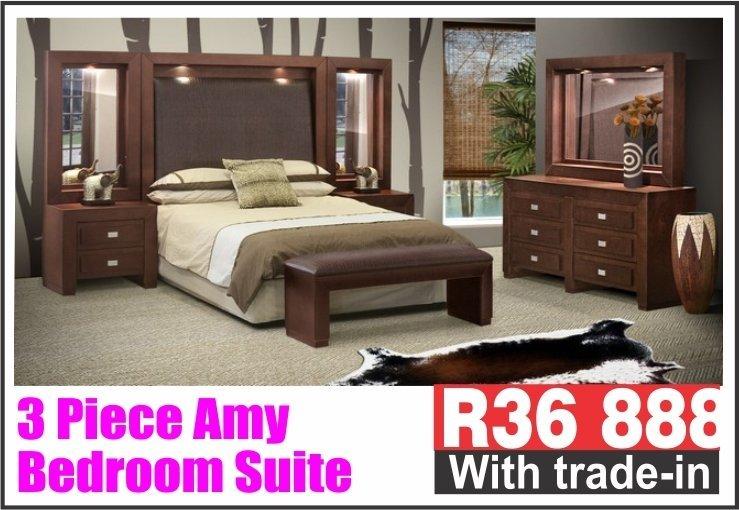 3 PIECE AMY BEDROOM SUITE