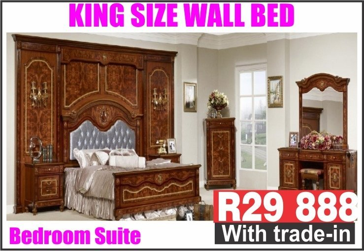KING SIZE WALL BEDROOM SUITE