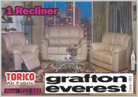1 RECLINER GRAFTON EVEREST LOUNGE SUITE with Trade-Inn