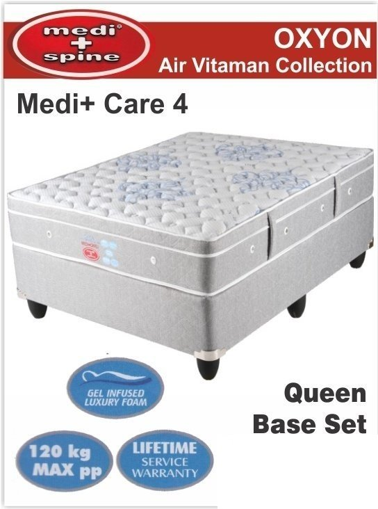 Medi+Care 4 Queen Base set