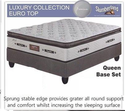 Luxury Collection Euro Top Queen Base Set