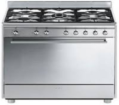 Smeg SSA91MAX9 GAS AND ELECTRIC & ROTISSERIE STOVE