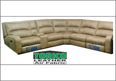 TORICO LEATHER corner suite with Trade-Inn