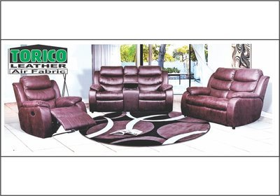3 Piece Nadine Lounge Suite with Trade-Inn