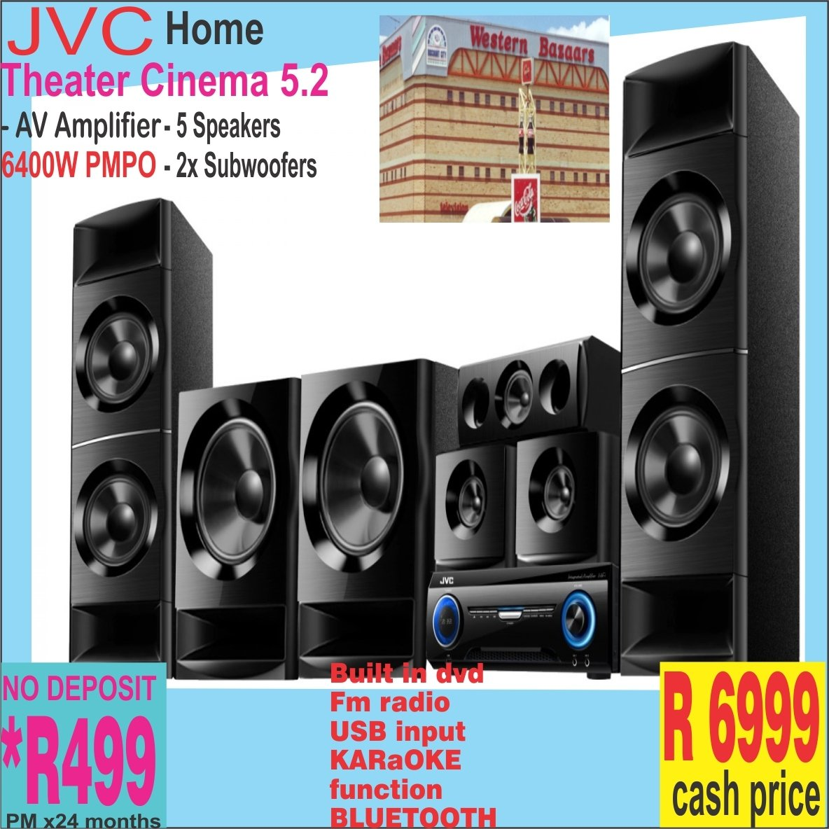Jvc Home Theater  5.2