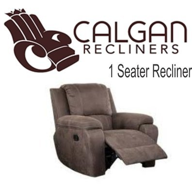 calgan SUEDE RECLINER