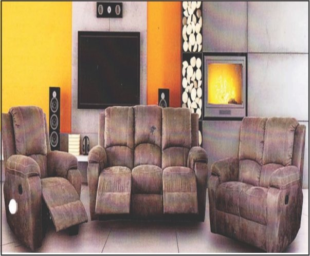 3 Motion Lounge Suite with Trade-Inn